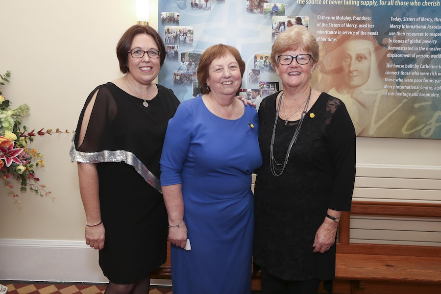 Srs Anna Nicholls, Mary Reynolds, Denise Fox (Chair MIA Board)