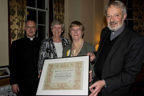 Sister Patricia Tomlinson Is Honoured