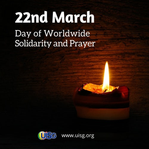 22 March: Day of Worldwide Solidarity and Prayer