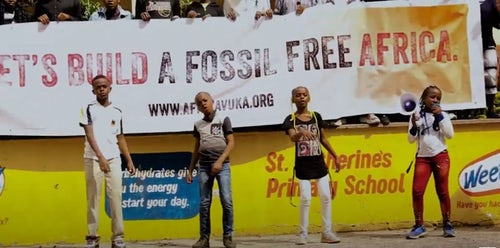 Calling for an End to Fossil Fuels in Africa