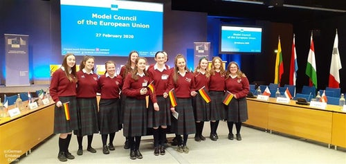 St Mary's College in Naas Wins EU Debating Competition on Climate Change
