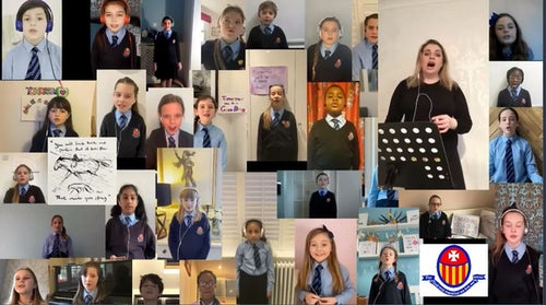 'Fix You' Song by St Mary's Primary School, Eltham, London, Chamber Choir