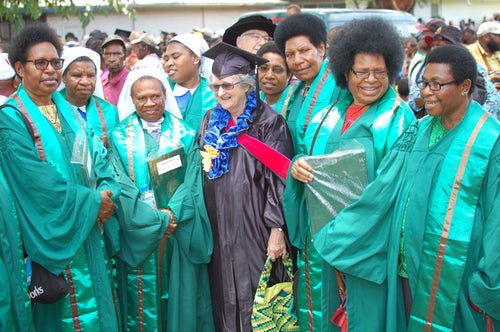 A Joyous Occasion: Sisters Graduate in PNG