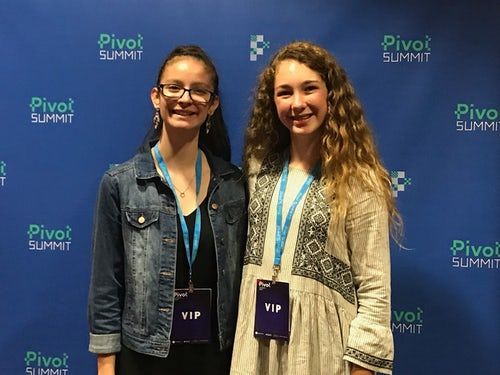 Mercy Students Pitch App Idea at Tech Summit