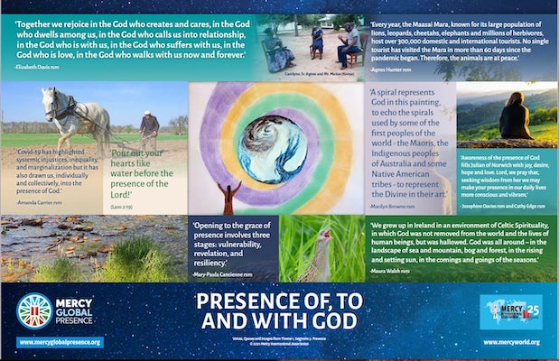 MGP Reflective Poster on 'Presence Of, To and With God'