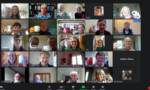 Remembrance Day Virtual Good Cup of Tea International Gatherings