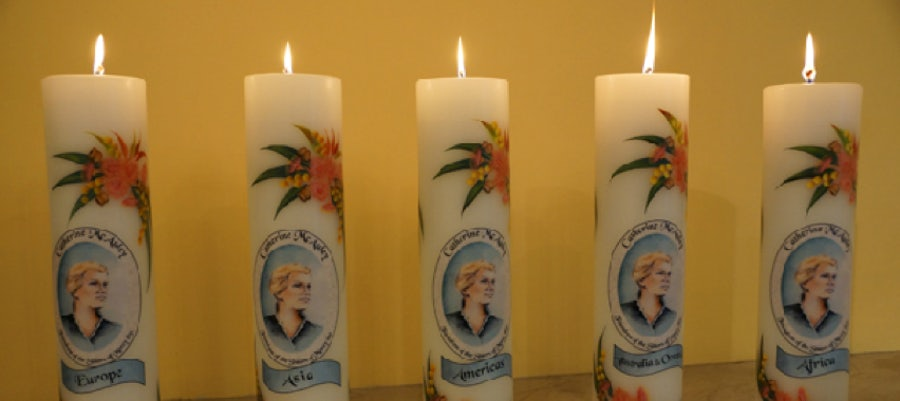 The 20th Aniversary Candles