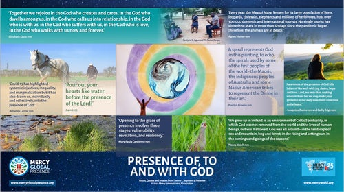 MGP Reflective Posters on Segment Three: 'Presence'
