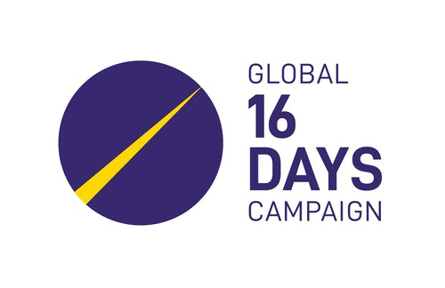 16 Days of Activism Against Gender Violence: 25 November - 10 December 2020