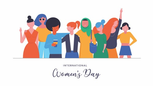 8 March: International Women's Day