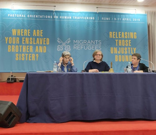 MIA-MGA Presents at Vatican Conference on Human Trafficking