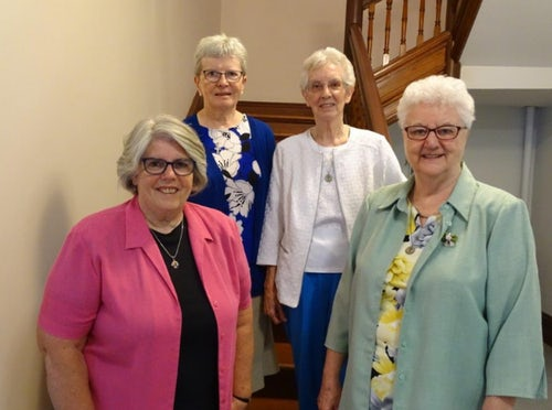 Congregation of the Sisters of Mercy Newfoundland Elect New Leadership Team