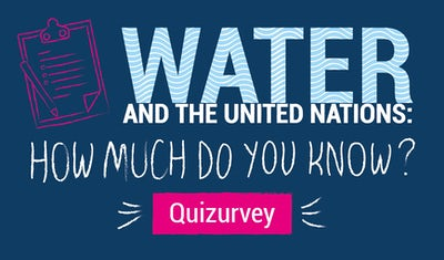 'Quizurvey' on Water and the UN