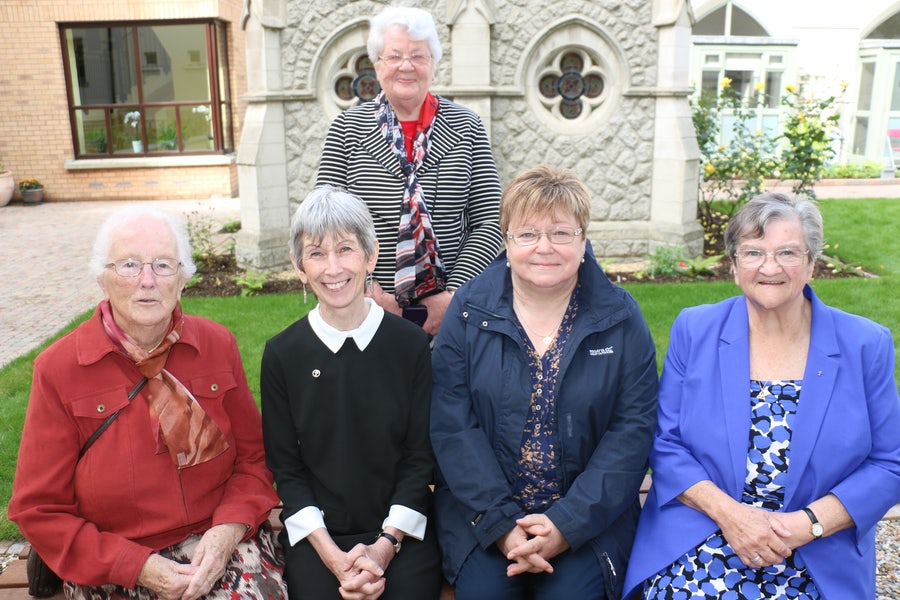Sisters and Circle of Mercy Members, Northern Province. Bonnie Brennan rsm (seated left) is the author of 'It Began with Two', the story of Mary Ann Doyle
