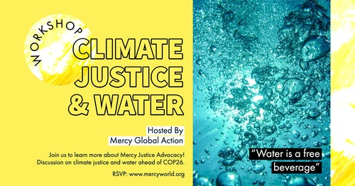 Mercy Global Action Advocacy Workshop: Water