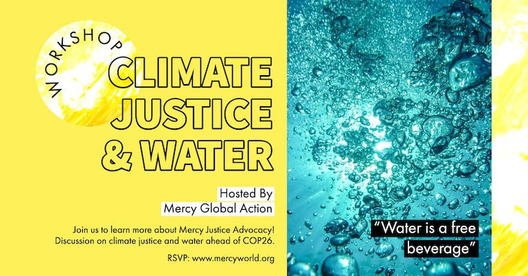 MGA Advocacy Workshop: Climate Change and Water