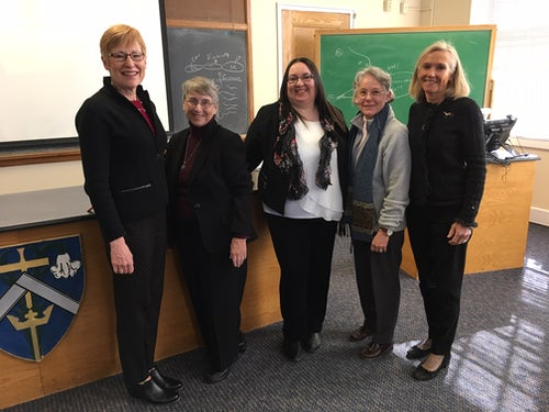 Mission Peer Review at the University of Saint Joseph in West Hartford, Connecticut