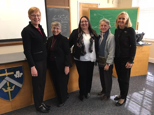 Mission Peer Review at the University of Saint Joseph in West Hartford, Connecticut, USA
