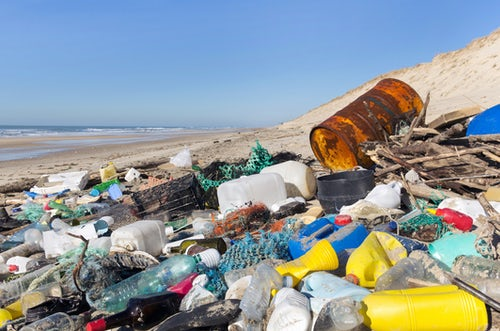 'Shocking' rise in rubbish washing up on UK beaches