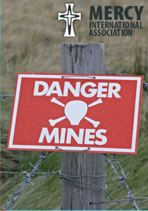 MGA joined by Denise Coghlan rsm to Commemorate the International Day of Mine Awareness and Assistance in Mine Action