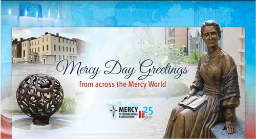 Mercy Day and Silver Jubilee Greetings