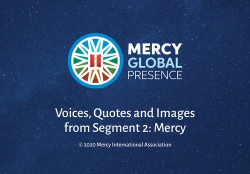 MGP Reflective Posters on 'Mercy' Theme: A Summary Resource