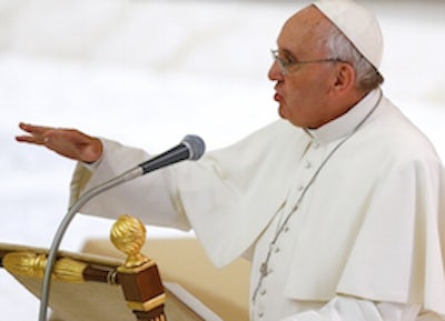Pope: economics without ethics leads to throwaway culture
