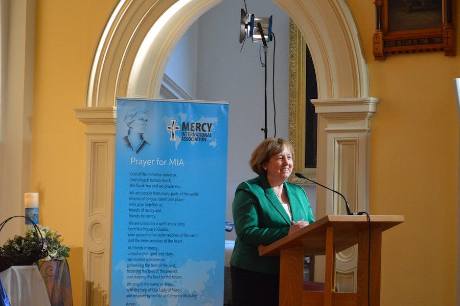 Mary Reynolds rsm launching 20th Anniversary Celebrations, 2014