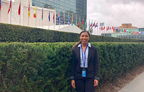 Meet Marian Gardner, New Intern With MIA: MGA at the UN