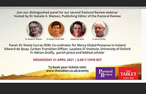 Webinar: The Cry of the Earth and the Cry of the Poor: Seeking God's Justice in a (not yet) Post-pandemic World