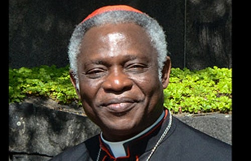Cardinal Peter Turkson Guest Speaker at AMRI Conference Dublin, 3rd October 2019
