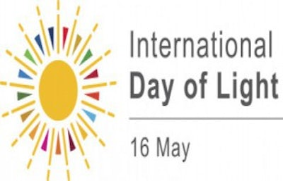 16 May. International Day of Light