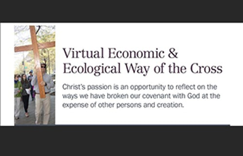 Virtual Way of the Cross for Economic and Ecological Justice
