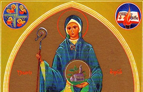 1 February: Feast of St Brigid