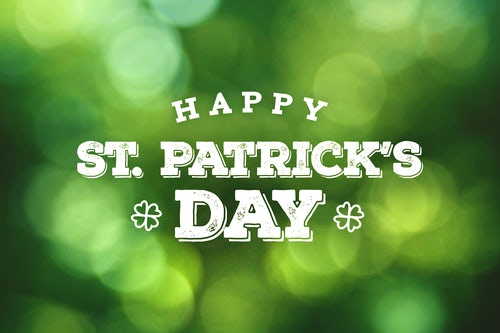 Greetings for Saint Patrick's Day, 17 March