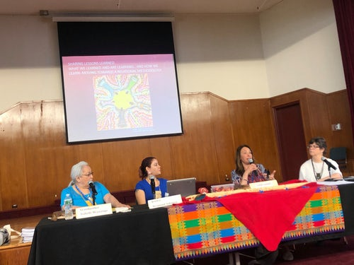 Mercy Global Action Co-Sponsors Event on Traditional Knowledge Sharing on Human Trafficking