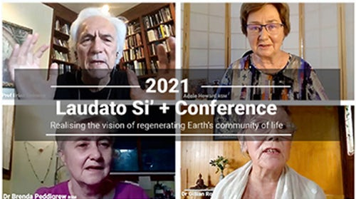 Recordings from Laudato Si' + Conference Now Online