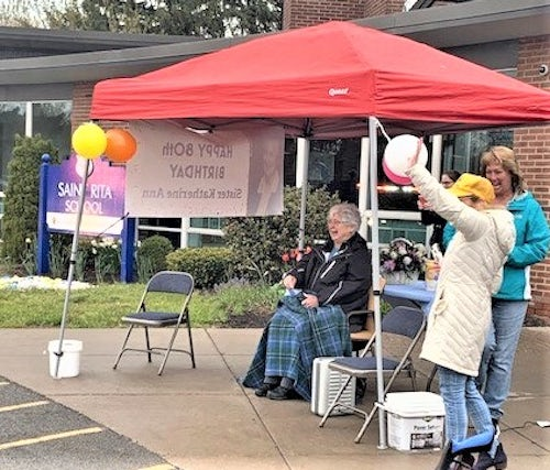 Parade Helps Rochester Sister Celebrate 80th Birthday