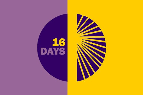 16 Days of Activism Against Gender Violence: 25 November - 10 December