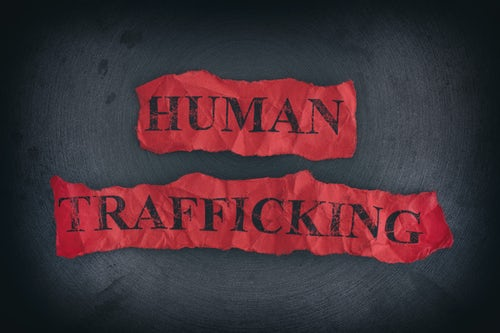 Displacement of Persons: Human Trafficking
