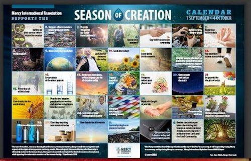 UISG Promotes MIA Season of Creation Calendar