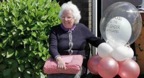 'Out pouring of Love' for Cork nun on her 88th birthday as locals organise a special surprise