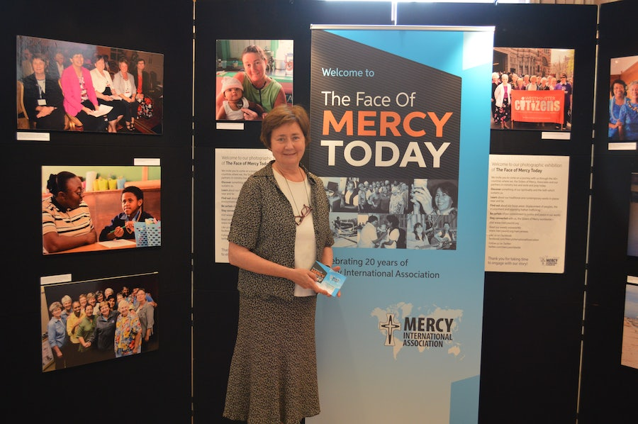 Adele howard rsm, Producer of 'The face of mercy Today' 20th Anniversary Photographic Exhibition