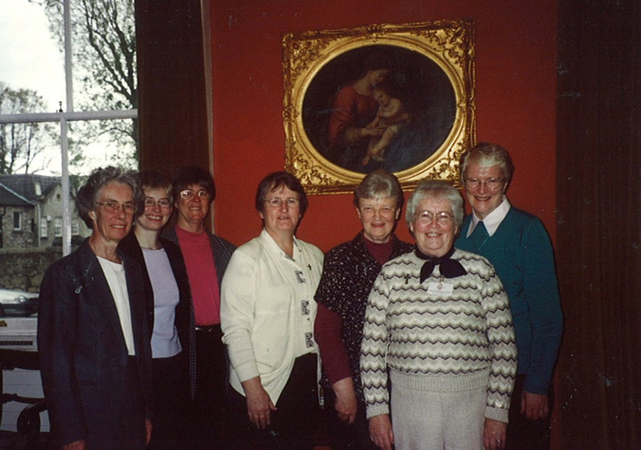 MIC Archives C'ee: Mary Sullivan, Marianne Cosgrave, Rosie Carroll, Evelyn Gallagher, Ethel Bignell, Maureen McGarrigle, Marion McCarthy, 2002