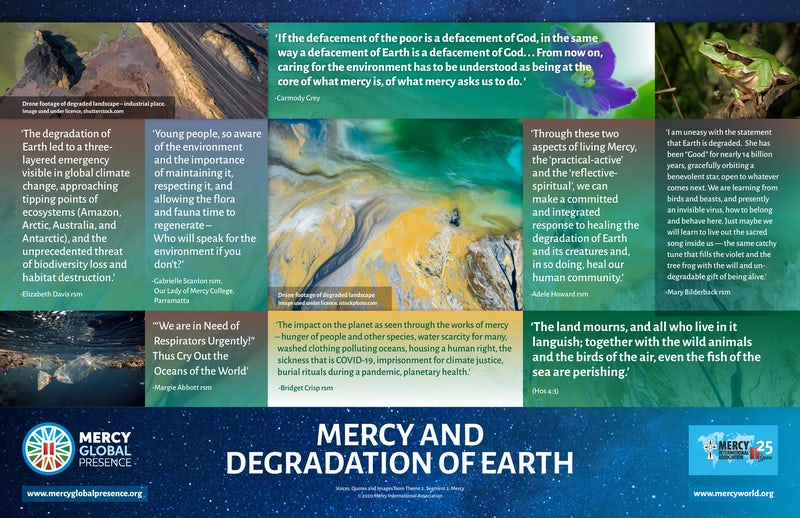 MGP Poster Two: ''Mercy and Degradation of Earth''