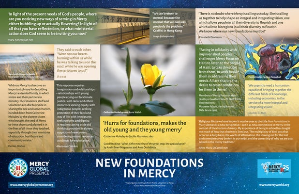 MGP Poster Four— 'New Foundations in Mercy'