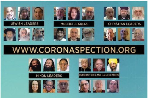 World Religious Leaders Reflect on Spiritual Challenges and Opportunities of Coronavirus