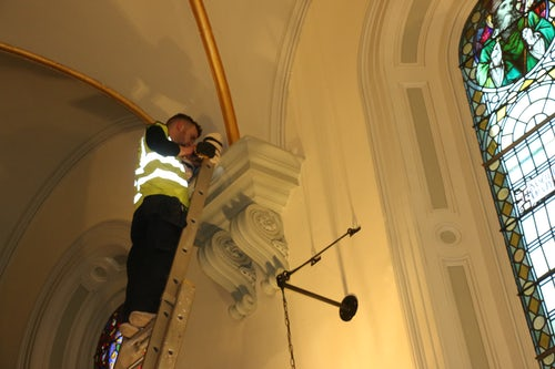 LED Lights Installed at Baggot Street