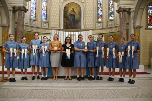 All Hallows' School - Mercy Action Commissioning Liturgy