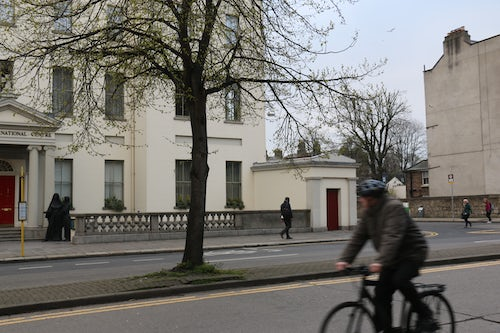 Volunteer at Baggot Street in 2020